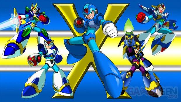 Mega Man X Legacy Collection 1 et 2 astuce code armure