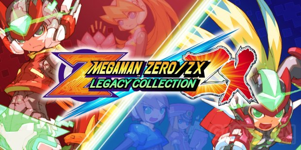 Mega Man ZeroZX Legacy Collection test switch edition image (1)