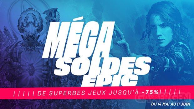 Méga Soldes Epic 2020