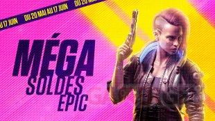 Méga Soldes Epic Games Store 2021 Cyberpunk 2077