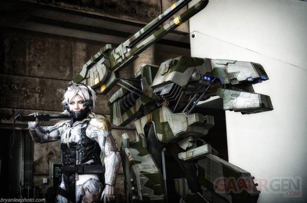 Metal Gear REX cosplay 1