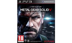Metal Gear Solid V Ground Zeroes jaquette
