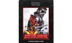 Metal Gear Solid V Phantom Pain VHS Jaquette Cover