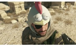 Metal Gear Solid V The Phantom Pain chapeau poulet images screenshots 3