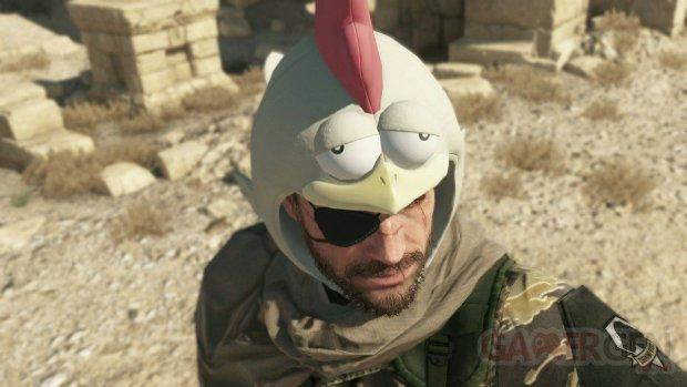 Metal Gear Solid V The Phantom Pain chapeau poulet images screenshots 3