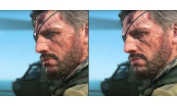 Metal Gear Solid V The Phantom Pain comparaison