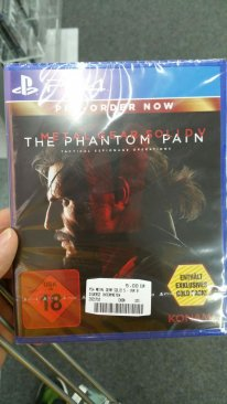 Metal Gear Solid V The Phantom Pain disponibilite allemagne