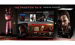 Metal Gear Solid V The Phantom Pain edition collector japon