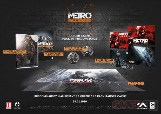 Metro Redux Ranger Cache pack précommande