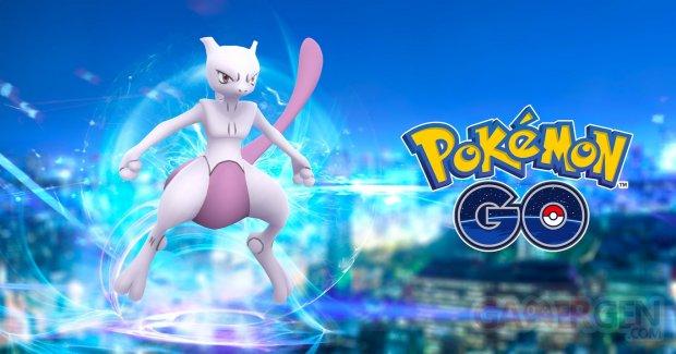 Mewtwo Pokémon GO Raids exclusifs
