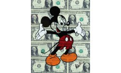 Mickey argent billet image Disney