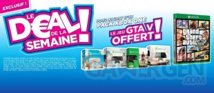 Micromania bonnes affaires deals soldes aubaines black friday xbox one pack bundle noel 2014