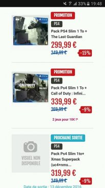 Micromania soldes promo bon plan PS4