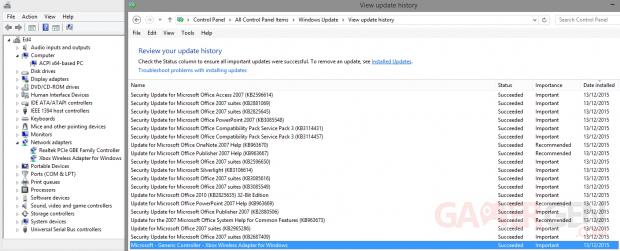 Microsoft Adaptateur sans Fil Xbox One pilote 2