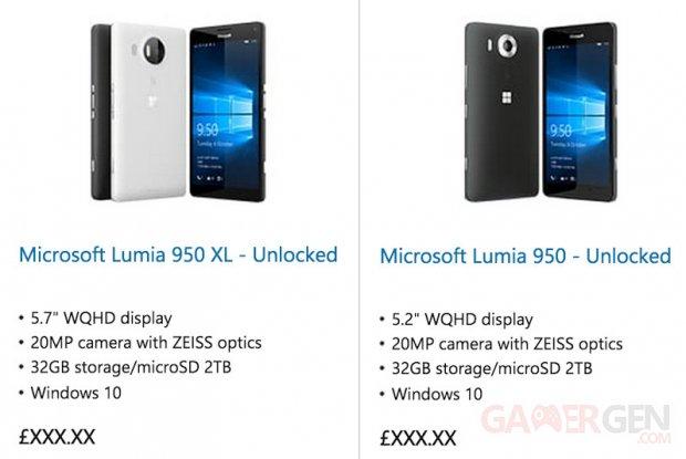 microsoft lumia 950 950 xl leak1