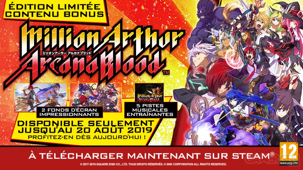 Million-Arthur-Arcana-Blood-édition-limitée-21-06-2019