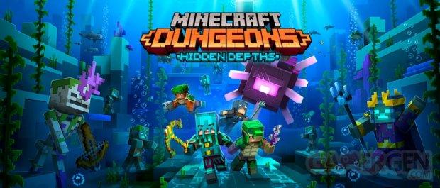 Minecraft Dungeons Hidden Depths DLC