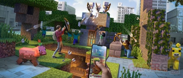 Minecraft Earth Fin
