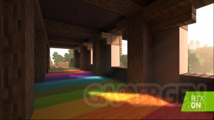 minecraft rtx dxr ray tracing 002 on min