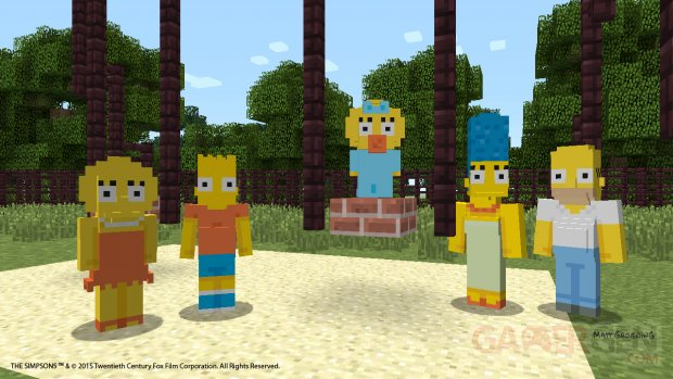 Minecraft Simpson images screenshots 1