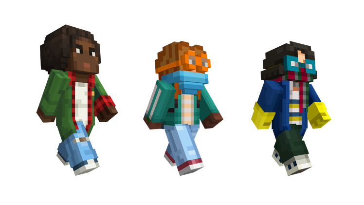 Minecraft Stranger Things Skins (17)