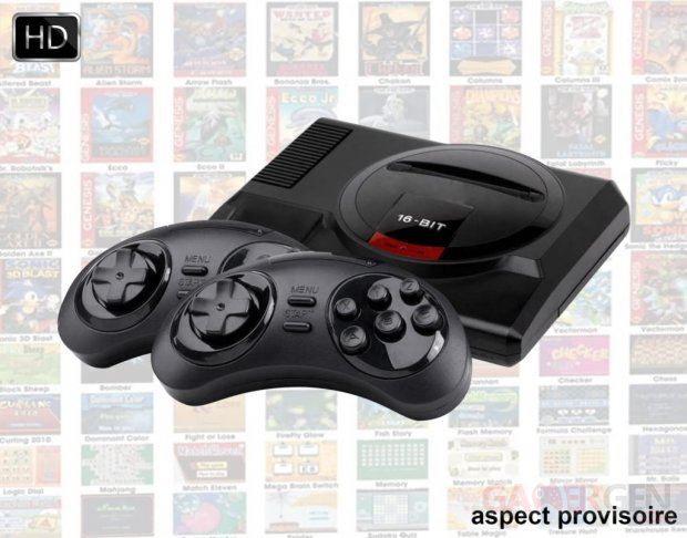 Mini Megadrive HD image