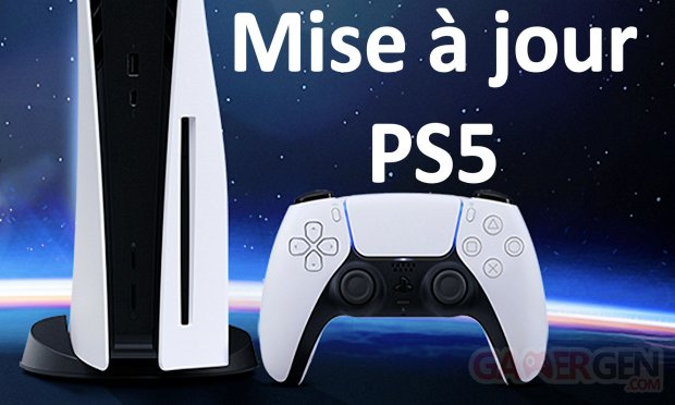 Mise à jour MAJ Firmware Update PS5 PlayStation image
