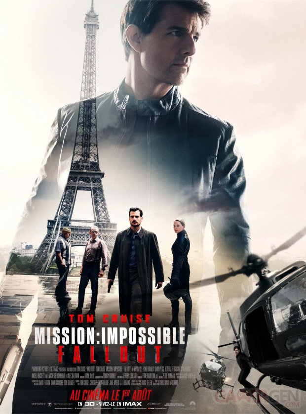 Mission Impossible Fallout Affiche Poster