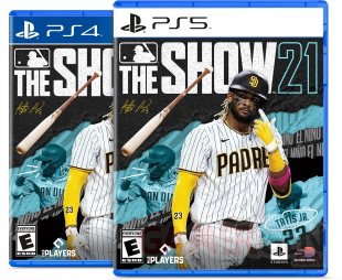 MLB The Show 21 cover jaquette PS4 PS5