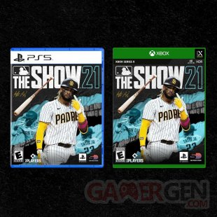 MLB The Show 21 cover jaquette PS5 Xbox