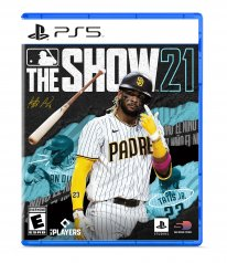 MLB The Show 21 cover jaquette PS5
