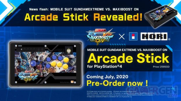 Mobile Suit Gundam Extreme VS Maxiboost ON stick arcade 12 06 2020