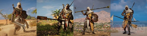 Monster Assassins Creed Origins Armes