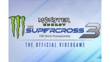 Monster Energy Supercross - The Official Videogame 3 Logo