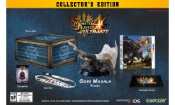 monster hunter 4 ultimate collectors edition unbox figurine pin