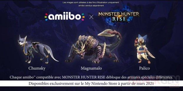 Monster Hunter Rise amiibo