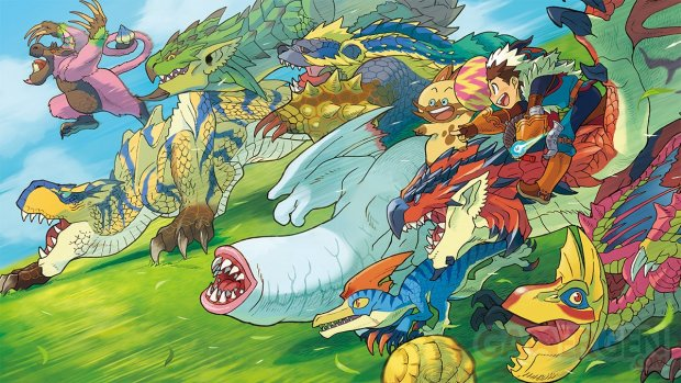 Monster Hunter Stories 05 09 2015 key art