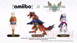 Monster Hunter Stories 2 Wings of Ruin amiibo