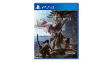 monster hunter world jaquette cover PS4