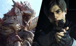 Monster Hunter World Resident Evil 2 images
