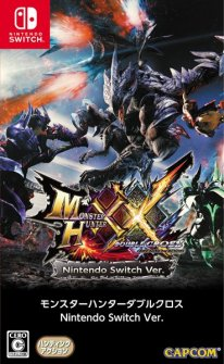 Monster Hunter XX Switch jaquette image