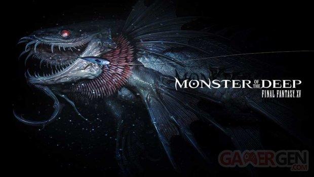 Monster of the Deep Final Fantasy XV 22 08 2017 logo