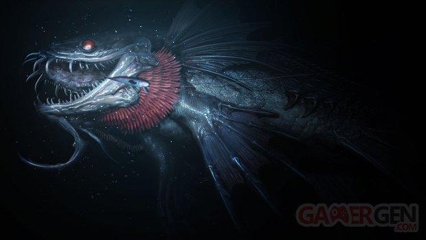 Monster of the Deep Final Fantasy XV Key Art