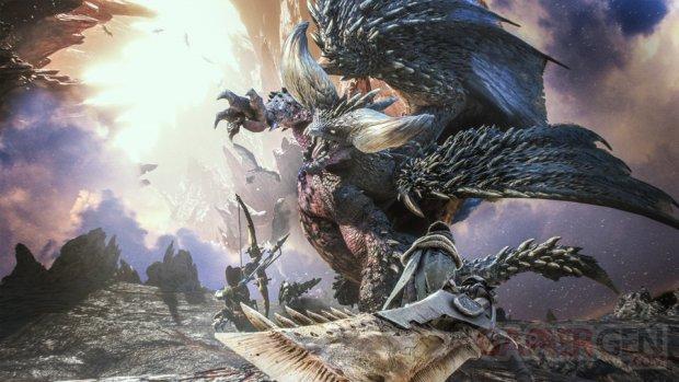 Monstery Hunter World head