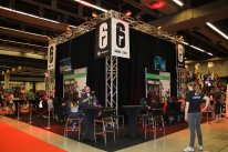Montréal ComicCon 2015   Reportage photos cosplay salon booth stand ubisoft assassin creed syndicate warner bros rainbow six siege bioware doctor who   52