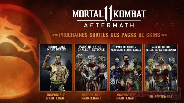Mortal Kombat 11 Aftermath 29 09 2020