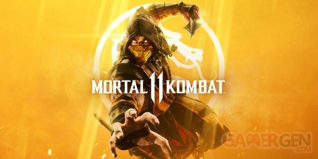 Mortal Kombat 11 cover art