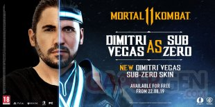 Mortal Kombat 11 Dimitri Vegas.