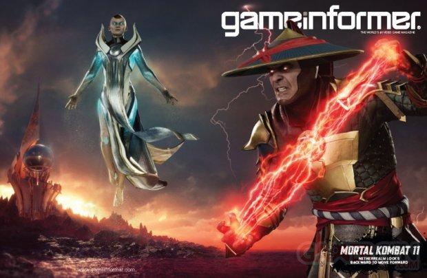 Mortal Kombat 11 Game Informer 02 04 2019