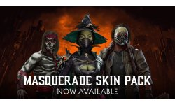 Mortal Kombat 11   Masquerade Skin Pack Reveal Trailer